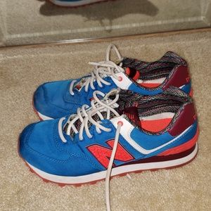 Patterned New Balance Tennis shoes